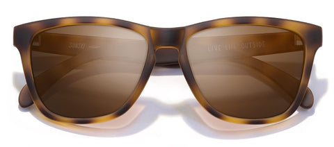 Sunski - Madronas Tortoise Sunglasses / Brown Polarized Lenses