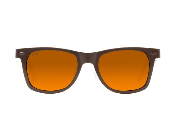 Proof - Challis Aluminum Copper Sunglasses / Brown Polarized Lenses