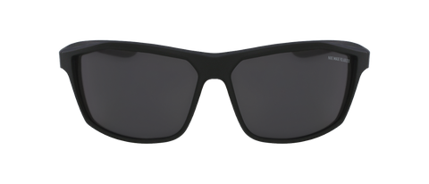 Nike - Intersect Matte Black Sunglasses / Grey Polarized Lenses