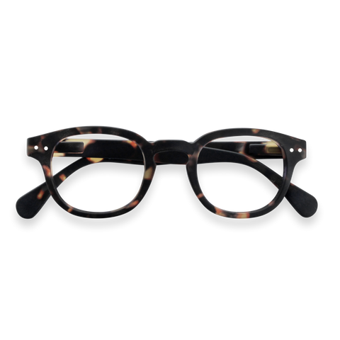 Izipizi - #C Tortoise Eyeglasses / Screen Blue Light Clear Lenses