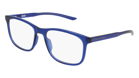 Puma PU0127SA Black Sunglasses / Blue Lenses