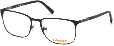Timberland - TB1620 58mm Matte Black Eyeglasses / Demo Lenses