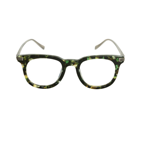 Spektre - Kubrick Havana Green Sunglasses / Clear Lenses