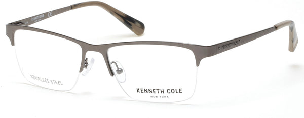e5411dba6b Kenneth Cole - KC0252 Matte Gunmetal Eyeglasses   Demo Lenses – New ...