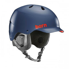 Bern - Watts EPS Matte Navy Blue Snow Helmet