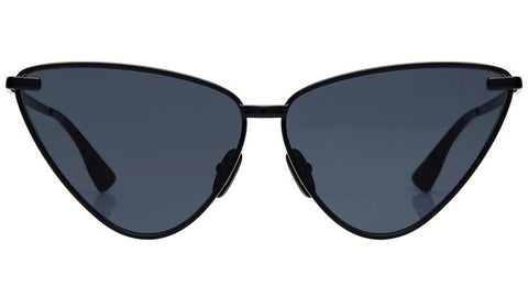 Le Specs - Nero Black Sunglasses / Smoke Mono Lenses