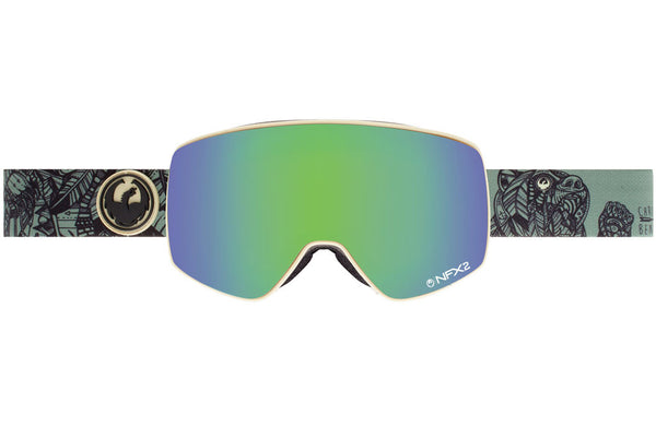 Dragon NFX2 Chris Benchetler / Green Ion + Pink Ion Goggles