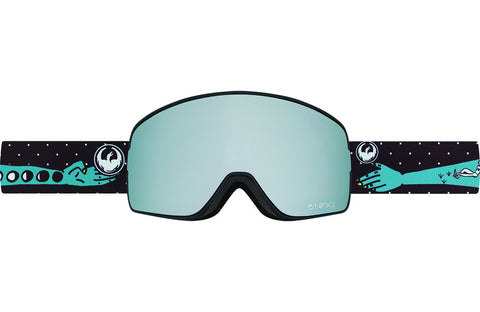 Dragon - NFX2 Forest Bailey Signature / Mirror Ion + Yellow Blue Ion Goggles