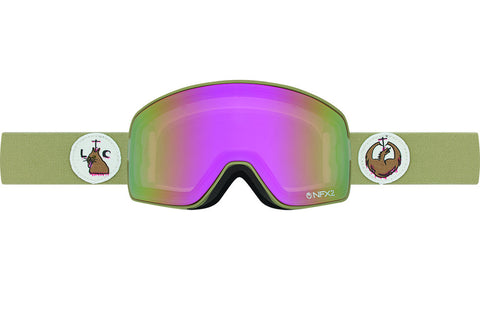 Dragon - DX Pink Ionized  Snow Goggle Replacement Lenses /  Lenses