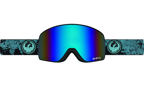 Dragon - NFX2 Mason Blue / Flash Blue Polarized Goggles