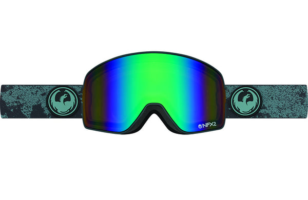 Dragon - NFX2 Mason Grey / Flash Green Polarized Goggles