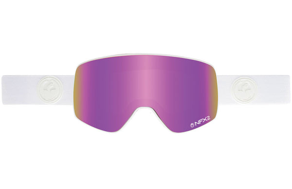 Dragon - NFX2 Whiteout / Pink Ion + Ionized Goggles