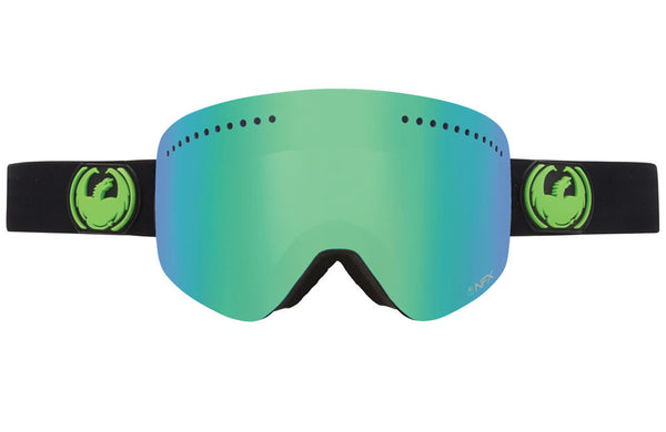 Dragon - NFX Jet / Green Ion + Yellow Blue Ion Goggles