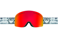 Dragon - NFX Onus Grey / Red Ion + Amber Goggles