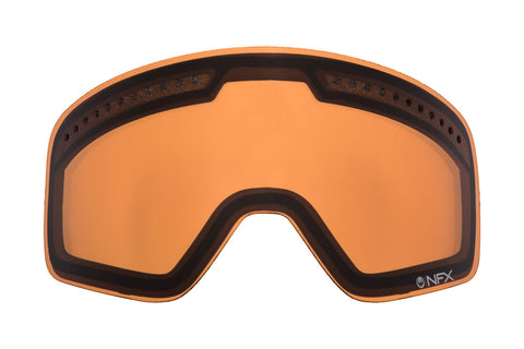 Dragon - D1 Amber  Snow Goggle Replacement Lenses /  Lenses