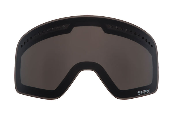 Dragon - DXs Dark Smoke  Snow Goggle Replacement Lenses /  Lenses