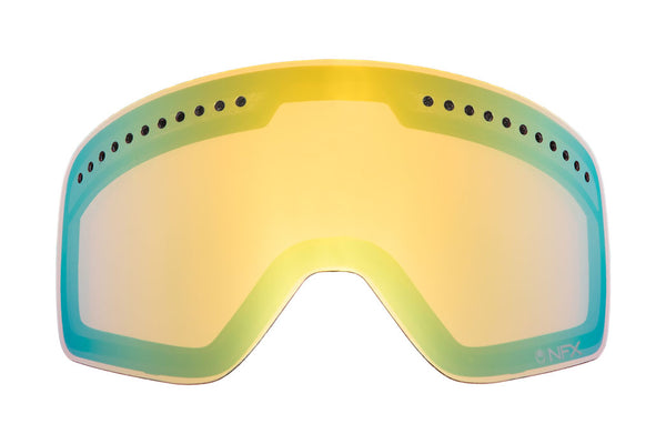 Dragon - DX2 Gold Ionized  Snow Goggle Replacement Lenses /  Lenses