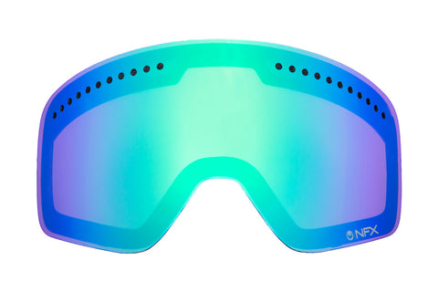 Dragon - DX2 Green Ionized  Snow Goggle Replacement Lenses /  Lenses