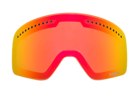 Dragon - DX2 Red Ionized  Snow Goggle Replacement Lenses /  Lenses