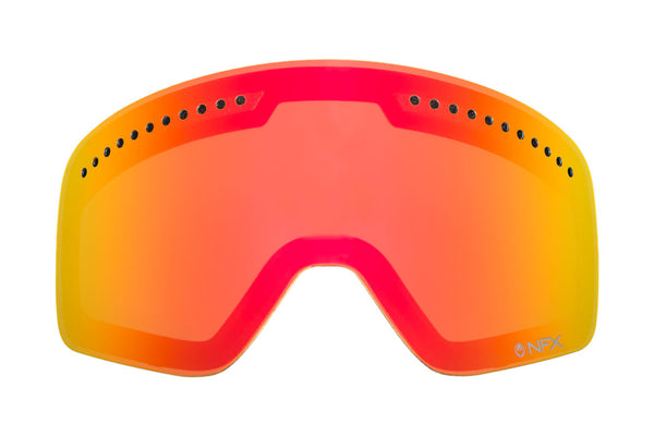 Dragon - D1 Red Ionized  Snow Goggle Replacement Lenses /  Lenses