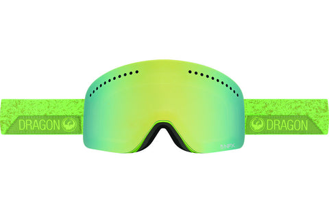 Dragon - NFX Stone Green / Smoke Gold Ion + Yellow Red Ion Goggles