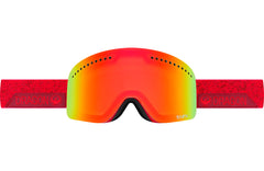 Dragon - NFX Stone Red / Yellow Red Ion + Blue Steel Goggles