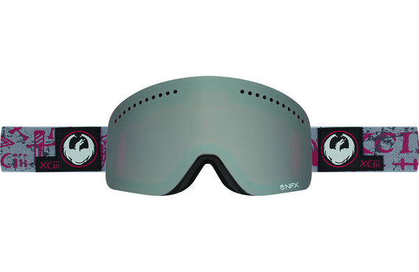 Dragon - NFX Tribe Red / Ionized + Yellow Red Ion Goggles