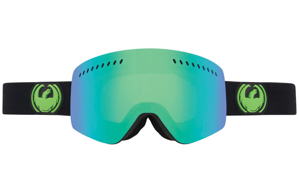 Dragon - NFXs Jet / Green Ion + Yellow Blue Ion Goggles