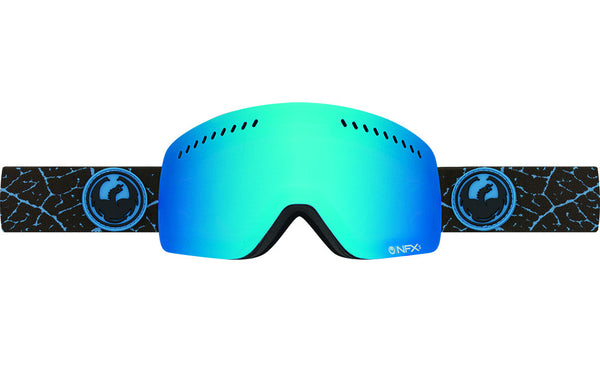 Dragon - NFXs Petal Blue / Blue Steel + Yellow Goggles