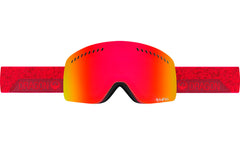 Dragon - NFXs Stone Red / Red Ion + Amber Goggles