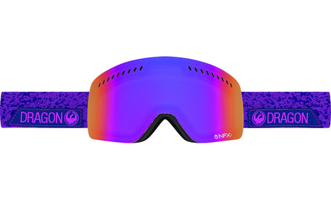 Dragon - NFXs Stone Violet / Purple Ion + Amber Goggles