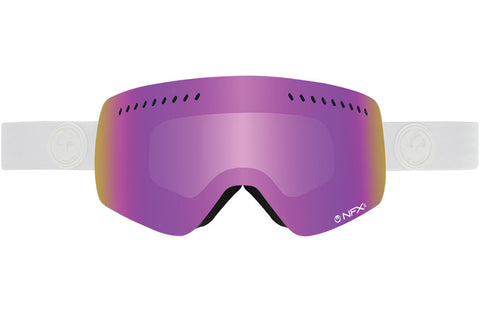 Dragon - NFXs Whiteout / Pink Ion + Ionized Goggles