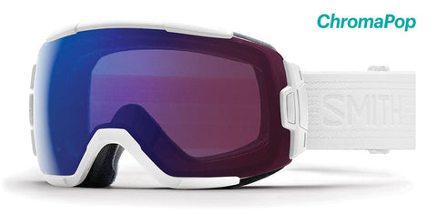 Smith - Vice Whiteout Snow Goggles / ChromaPop Photochromic Rose Flash Lenses