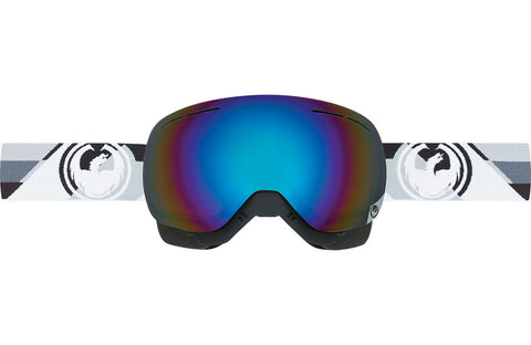 Dragon - NFX Splice Blue MX Goggles / Blue Steel + Clear Lenses