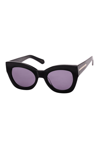 Karen Walker - Northern Lights V2 Black Sunglasses / Black Lenses