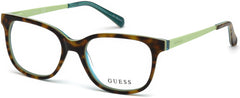 Guess - GU9175 Dark Havana Eyeglasses / Demo Lenses