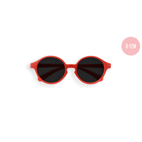 Izipizi - #Sun Baby Red Sunglasses / Grey Polarized Lenses