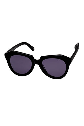 Karen Walker - Number One Black Sunglasses / Black Lenses