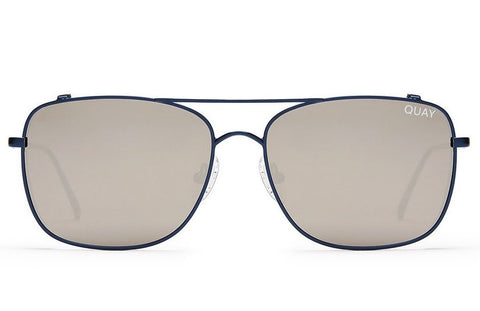 Quay Weekend Warrior Navy / Silver Sunglasses