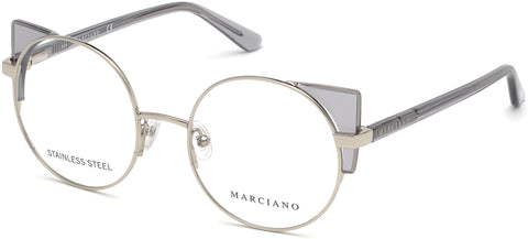 Marciano - GM0332 Shiny Light Nickeltin Eyeglasses / Demo Lenses