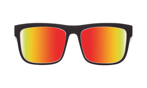 Spy - Discord Whitewall Sunglasses / Happy Gray Green Red Spectra Lenses