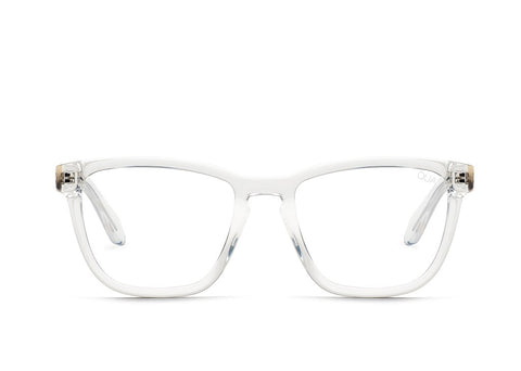 Quay Hardwire Clear Eyeglasses / Clear Blue Light Lenses
