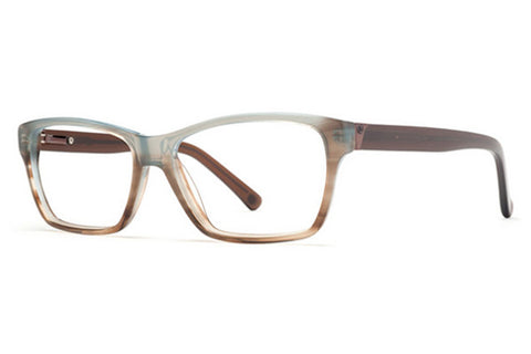 VonZipper Hot Mess Tortoise Blue Gloss TBL Rx Glasses