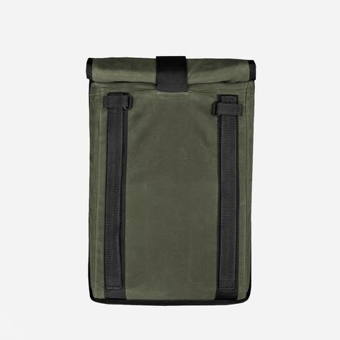 Mission Workshop - Arkiv Laptop Case Olive Waxed Canvas Laptop Sleeve