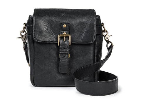 ONA - Leather Bond Street Black Messenger Bag