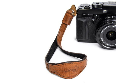 ONA - Leather Kyoto Antique Cognac Camera Strap