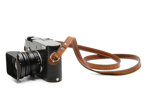 ONA - Leather Sevilla Antique Cognac Camera Strap