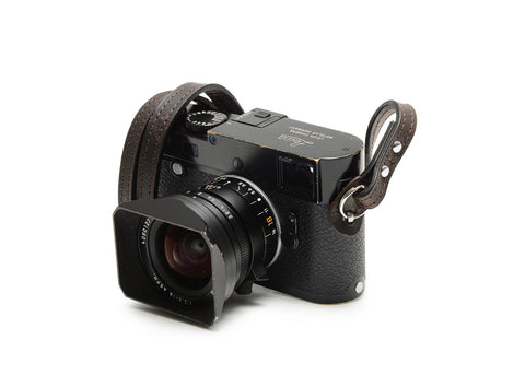 ONA - Leather Sevilla Dark Truffle Camera Strap