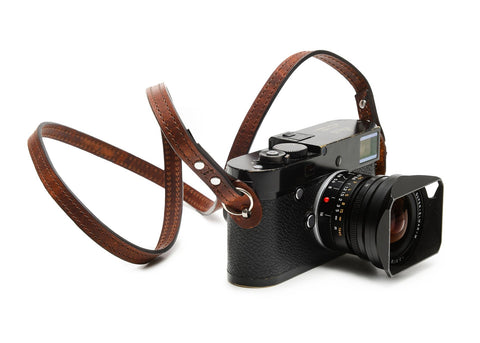 ONA - Leather Sevilla Root Beer Camera Strap