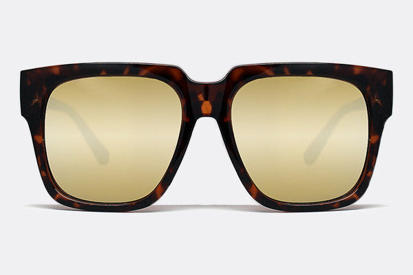 Quay On The Prowl Tortoise / Gold Mirror Sunglasses